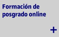 Formacion de posgrado online
