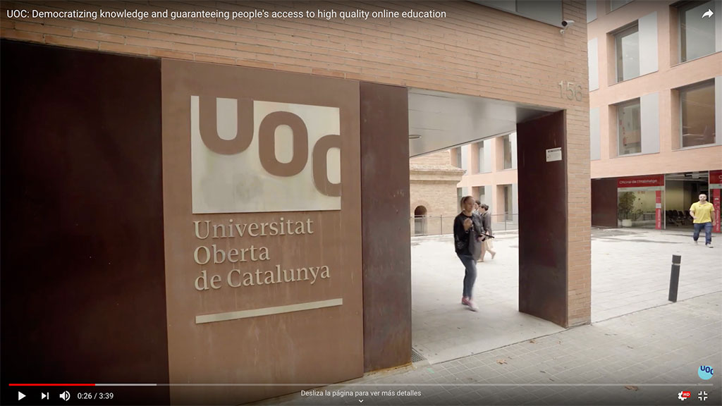 UOC the focus of a video produced by BBC StoryWorks and the IAU