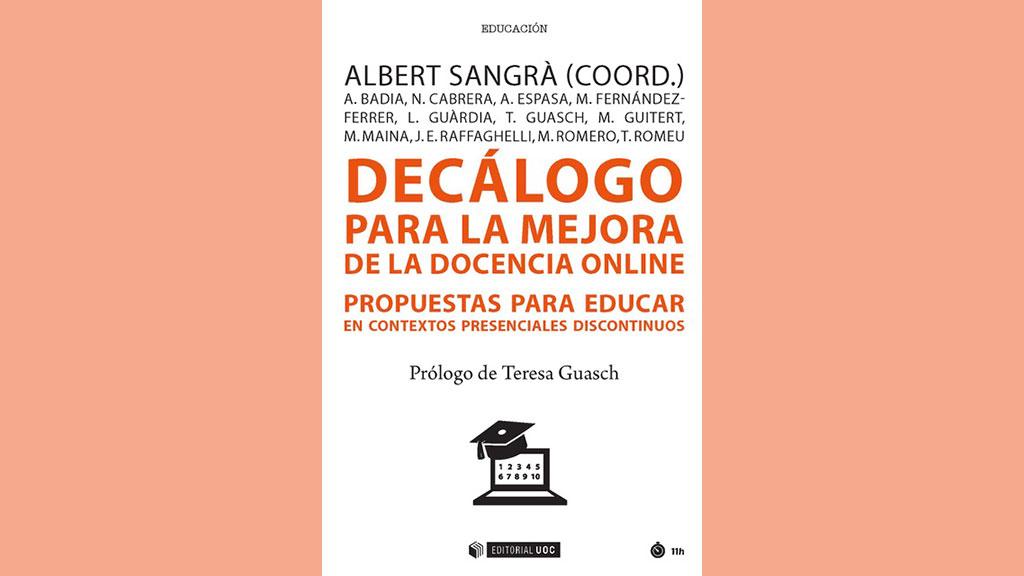 libro decálogo para la docencia en línea