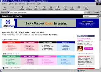 Latinchat paises
