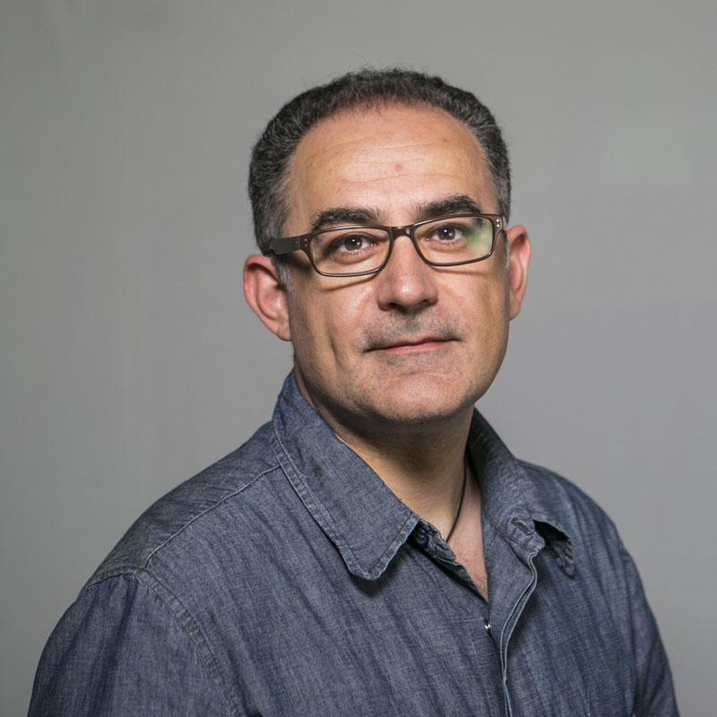 Foto del professor Alexandre López Borrull
