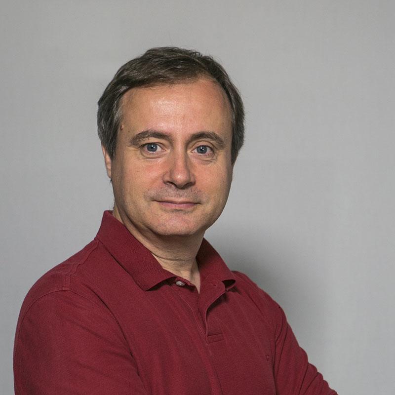 Foto del professor Carlos Casado Martínez