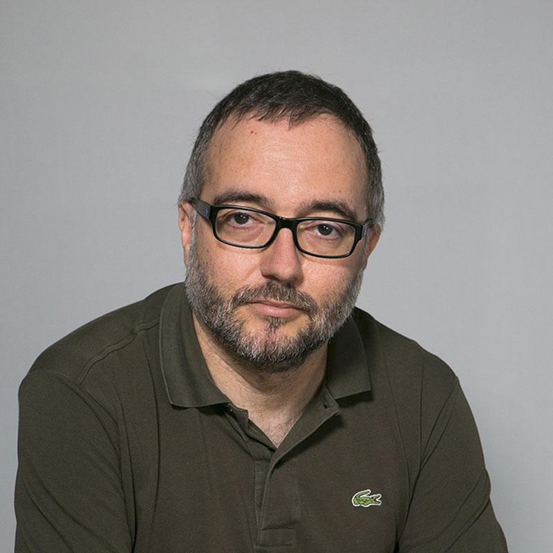 Foto del professor César Pablo Córcoles Briongos
