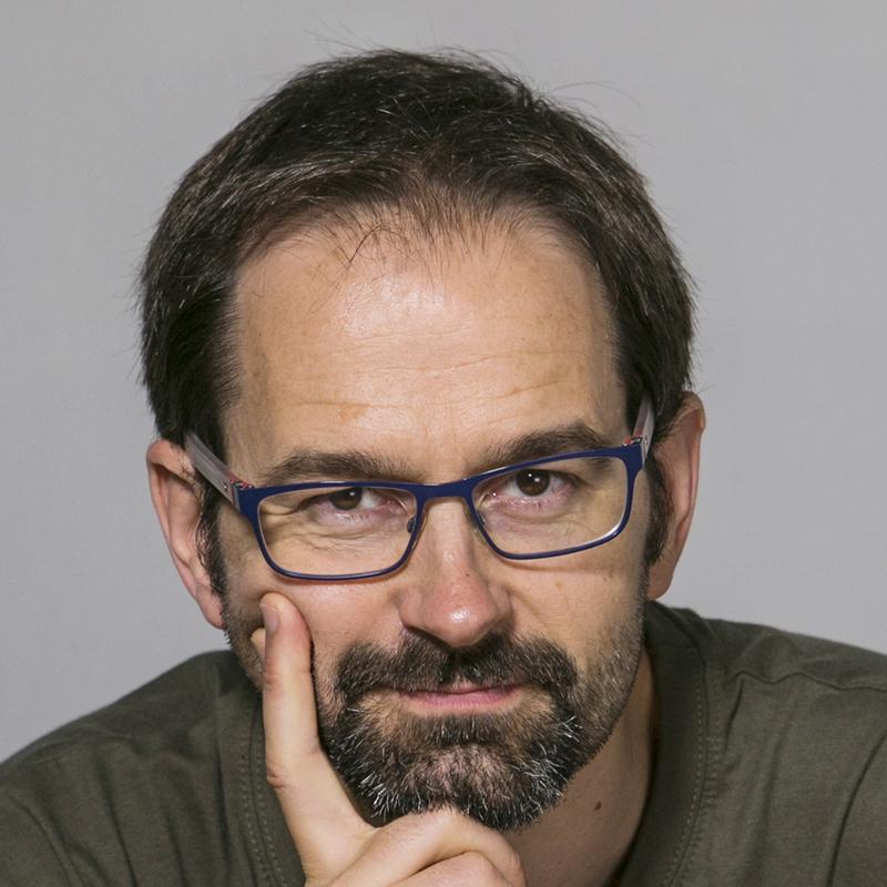 Foto del profesor Daniel Riera Terrén