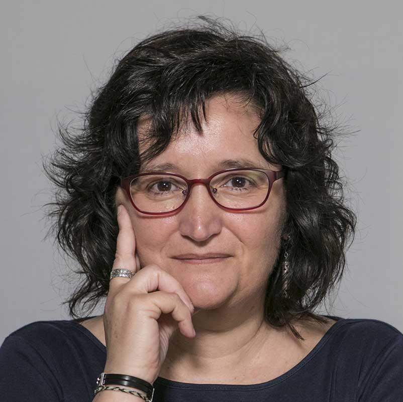 Foto de la profesora Eulàlia Hernández Encuentra