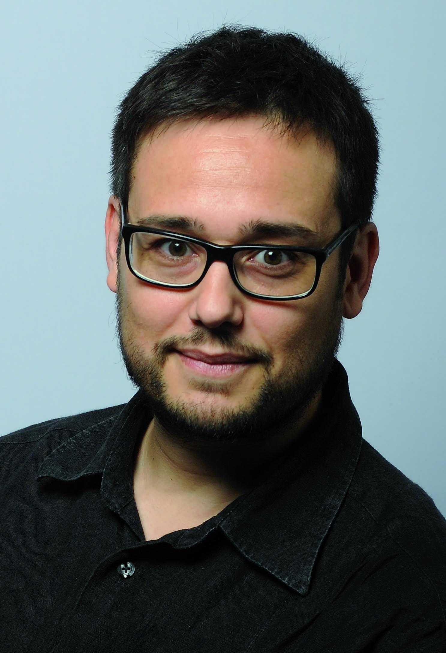 Foto del profesor Israel Rodríguez Giralt