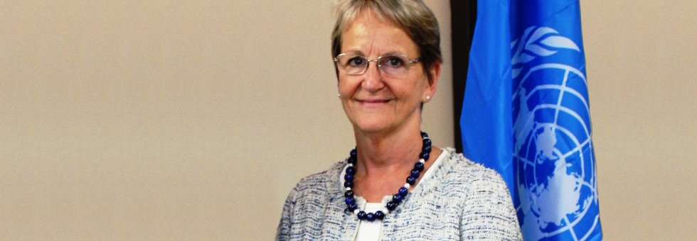 Sally Fegan-Wyles, UN Assistant Secretary General and Acting Head and Executive Director of UNITAR