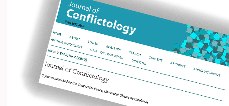 Journal of Conflictology logo