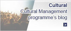 Cultural Management programme's blog