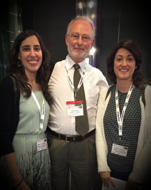 UOCSalut meeting Dr. Baker at 2nd International Brain Stimulation Conference